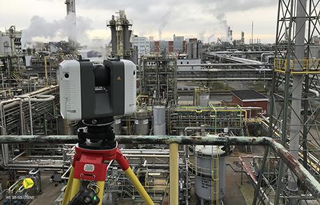 3D-Laserscanning Objektvermessung vor Ort